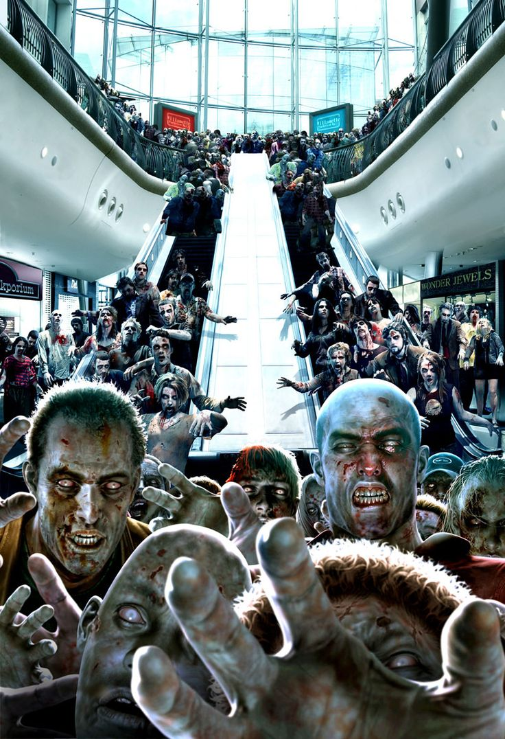 Dead Rising escalators