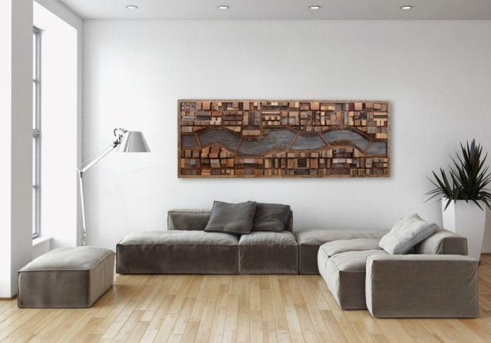 Wohnzimmer Wanddeko wanddeko wohnzimmer modern, wanddekoration ...