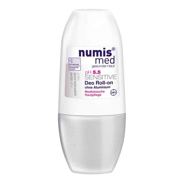 NUMIS MED pH 5,5 SENSITIVE roll on / ΑΠΟΣΜΗΤΙΚΟ ΜΑΣΧΑΛΕΣ abbeauty.com