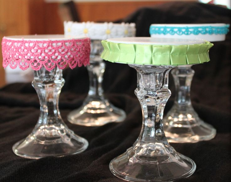how to make cup cake stand