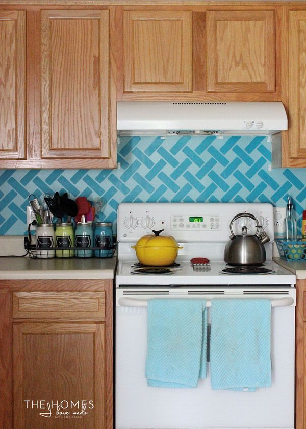 Vinyl Tile Backsplash Hakkında Pinterestteki En Iyi Fikir - Custom vinyl wall decals for kitchen backsplash