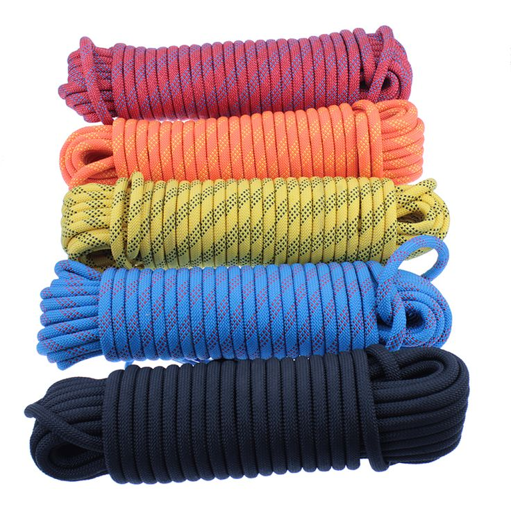 Cheap buckle, Buy Quality buckles 10mm directly from China buckle climbing Suppliers: Professional 20M Outdoor Rock Climbing Rope High Strength Cord Safety Ropes Hiking Accessory 10mm Diameter 12KN  Striped buckle