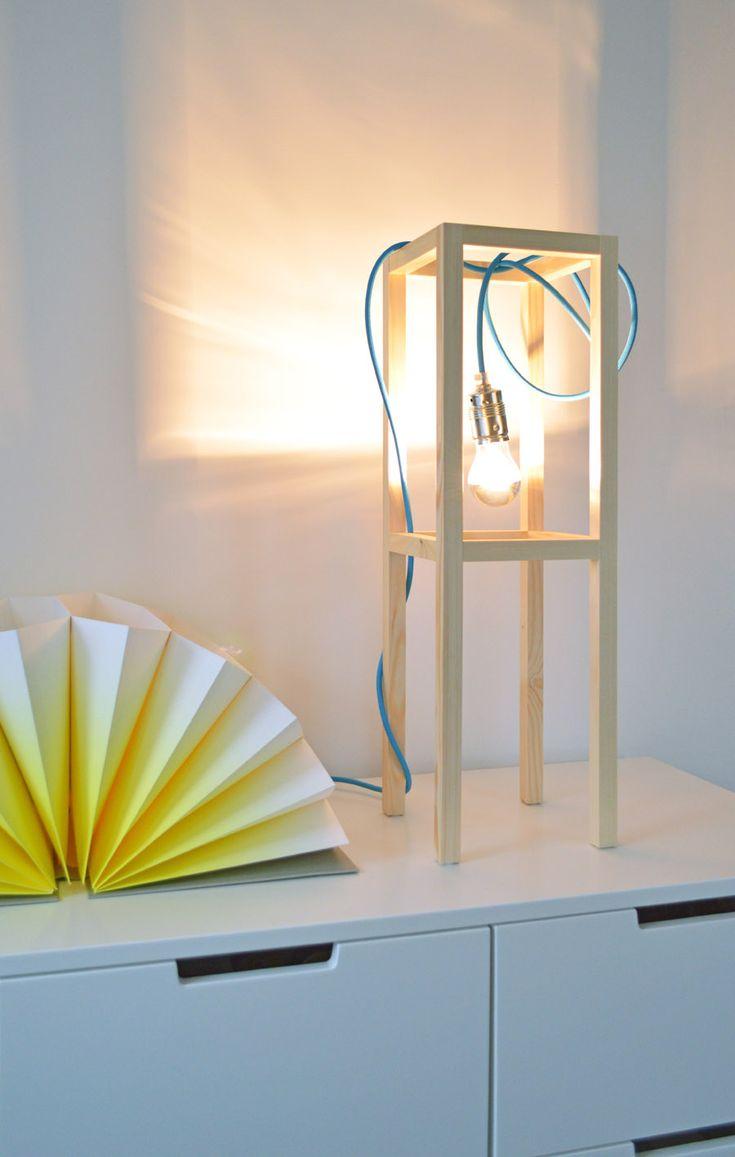 Fabulous DIY Lamp by Kristina Markovic ichdesigner Hay Plisse
