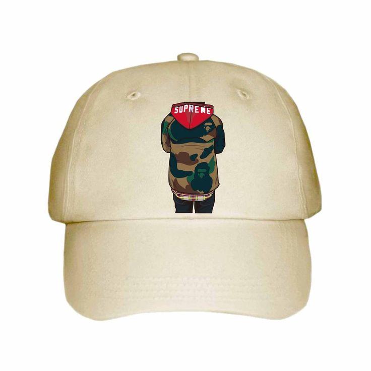 Supreme Bape Khaki Hat/Cap