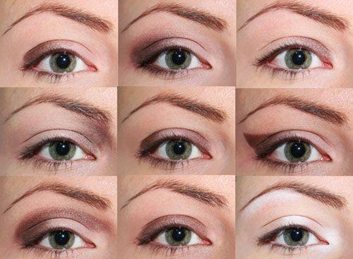 9 modi per applicare l'ombretto sugli occhi