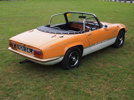 1972 Lotus Elan Sprint DHC - Silverstone Auctions