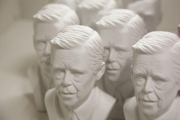 Vaclav Havel bust Designer - DAVID SEKERES  available at ARTEL Design Shops