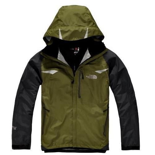 The North Face Gore Tex Olive Jacket I'm in love! FREE SHIPPING