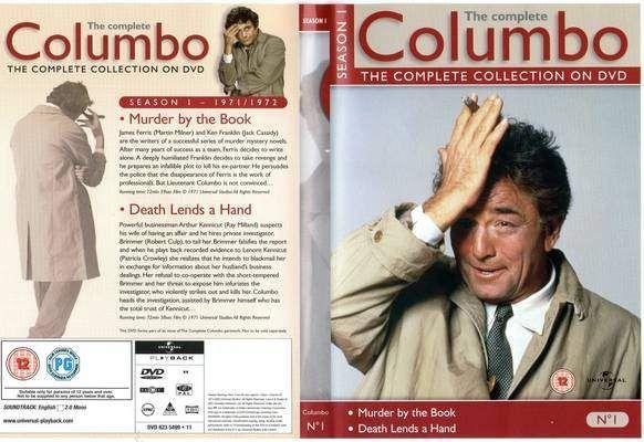 Columbo: Season 1 R2 TV Front cover
