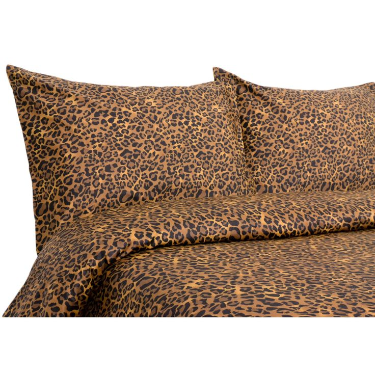 Elite Home 300 Thread Count Leopard Bedding Set - EHP819