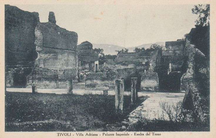 Tivoli, Villa Adriana, Hadrian Villa, Italy ~  Real Photograph ~ Vintage Postcard ~ Unused by CardsbyCollecticFind on Etsy