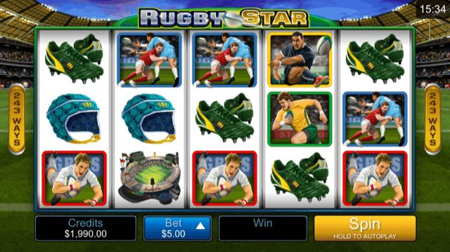 Rugby Star Slot Review | Microgaming