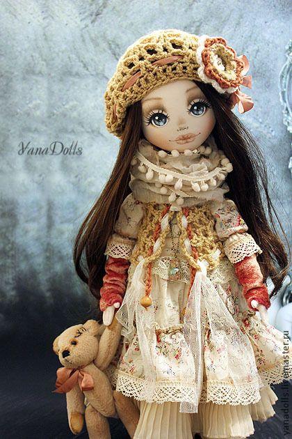 Коллекционные куклы ручной работы. Ярмарка Мастеров - ручная работа Марта. Handmade.