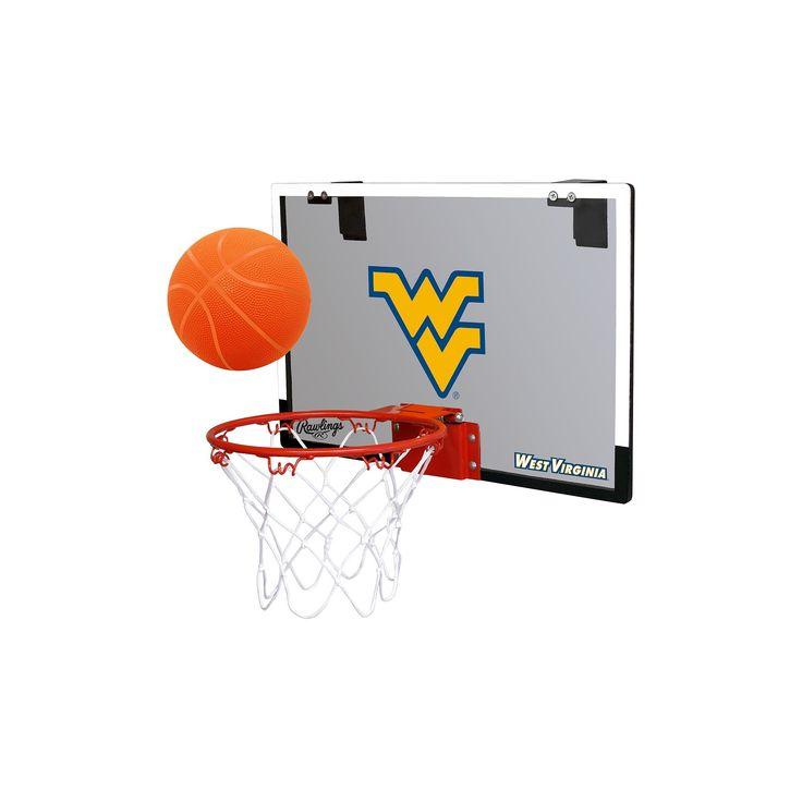 NCAA West Virginia Mountaineers RawlingsToy Basketball Set