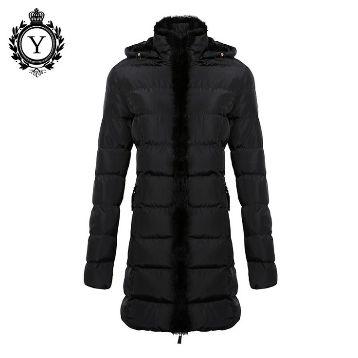 Women Clothing Down Jacket Winter Stylish Long Khaki Parka Coats Warm Waterproof Women's Winter Coat