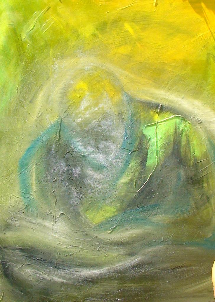 Meditation  2010  50*60  oil on canvas  SOLD