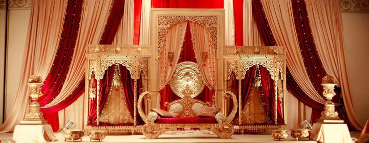 Royal Wedding Decor - Mugal Theme by Dreampartydecor