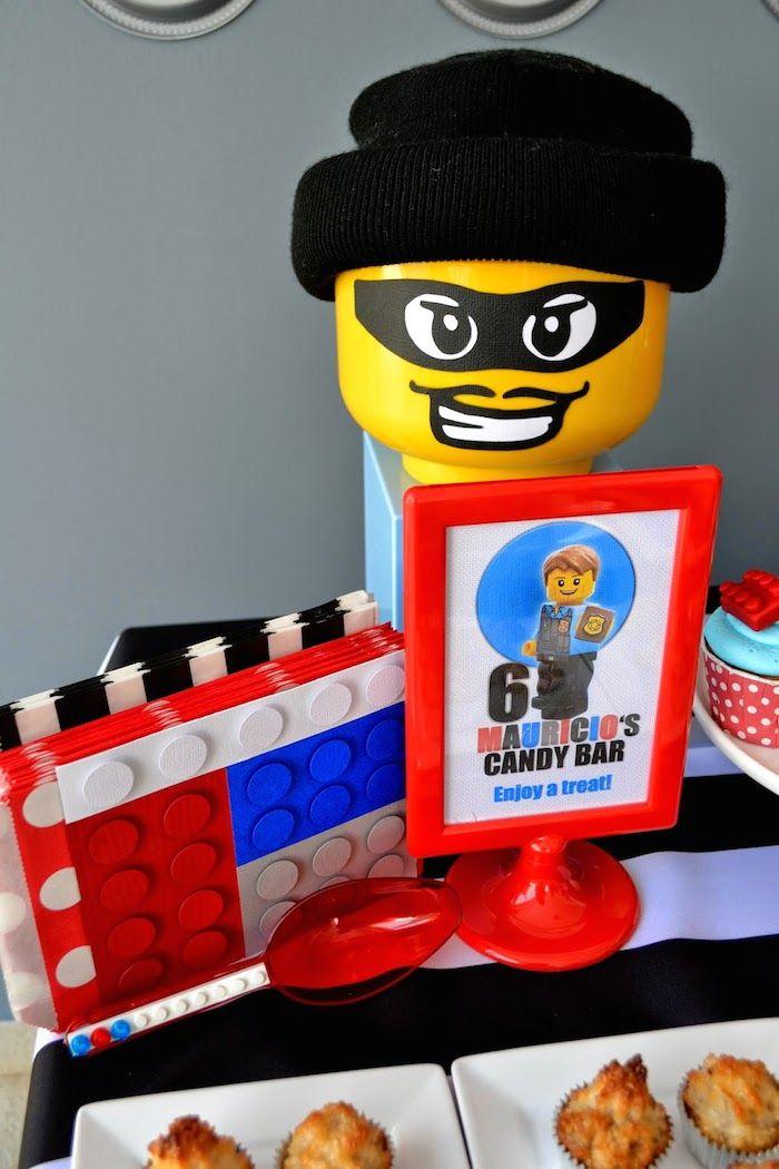 Best 25+ Lego city birthday ideas on Pinterest | Lego city police ...