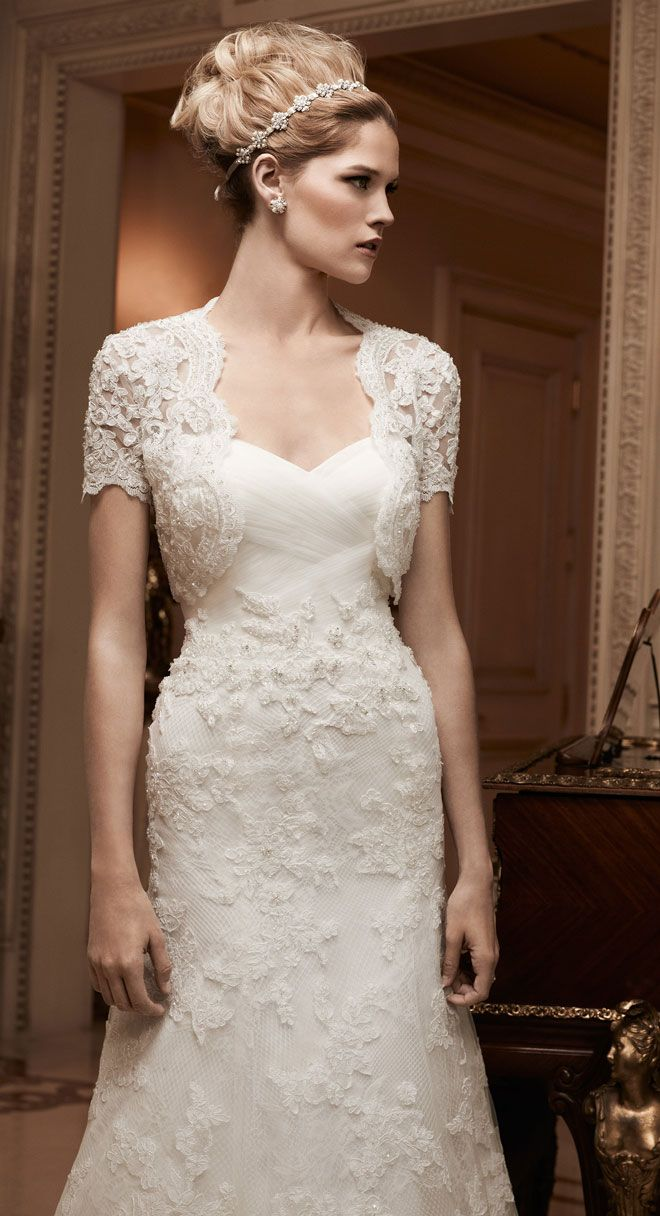 Wedding dresses for fuller figures with sleeves   best Beautiful wedding dresses images on Pinterest  Gown