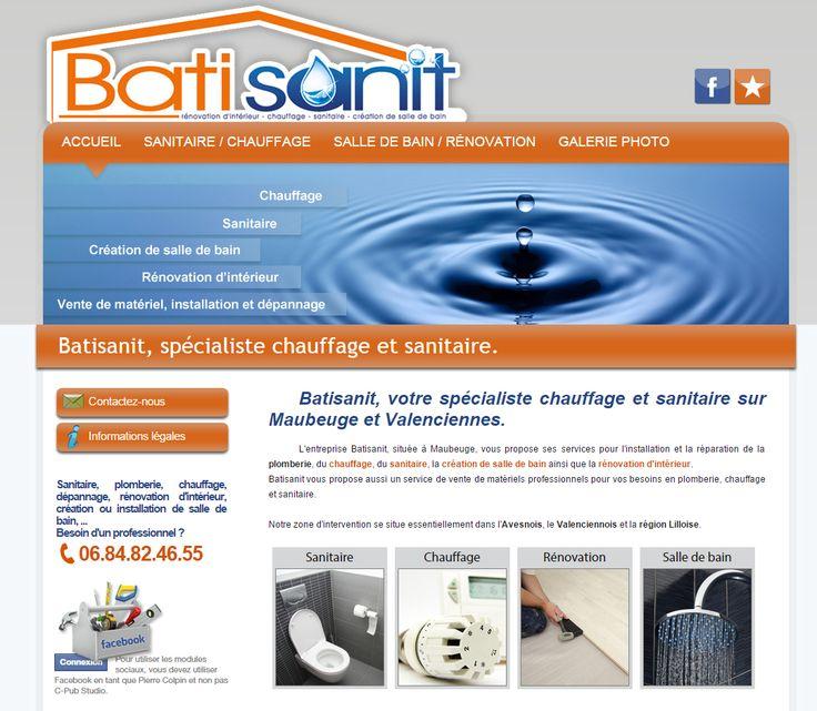 C-Pub Studio, création du site :  http://www.batisanit.fr/