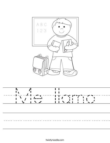 preschool spanish worksheets coloring pages - spanish worksheets for kindergarten students free