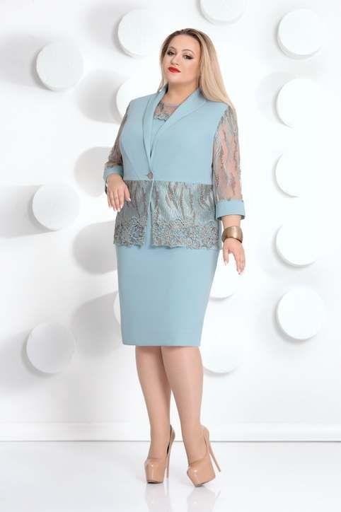 c9542cb7074 Коллекция женской одежды больших размеров белорусской компании Mubliz  осень-зима 2018-19