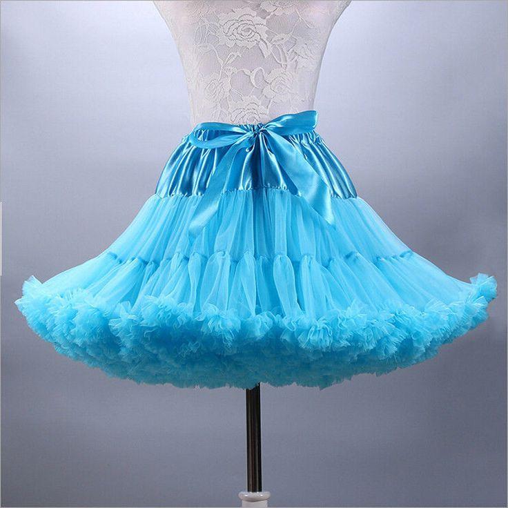 17.99$  Watch here - http://viawl.justgood.pw/vig/item.php?t=47k9y3r56522 - Short Knee-Length Wedding Petticoat Formal Tulle Vintage Bridal Underskirt Tutu