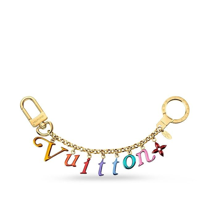 1263df81c3d4 ACCESSORIES KEY HOLDERS   MORE Louis Vuitton New Wave Chain Bag Charm and Key  Holder