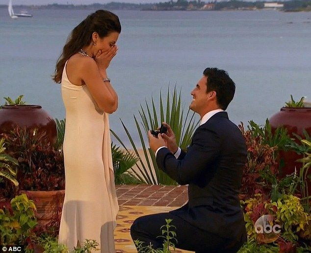 He dropped to one knee: The Atlanta native proposed to the ABC star and she seemed shocked...