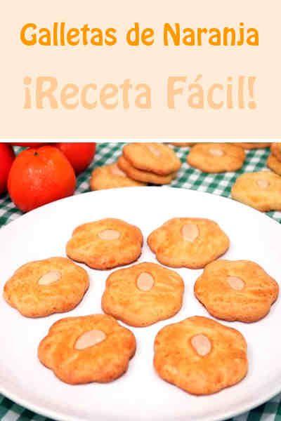 Galletas de Naranja. ¡Receta Fácil!