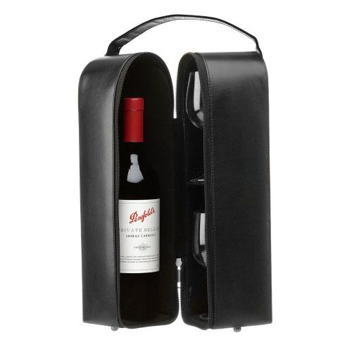 Carlo Rossini 7003 Leather Wine Carrier