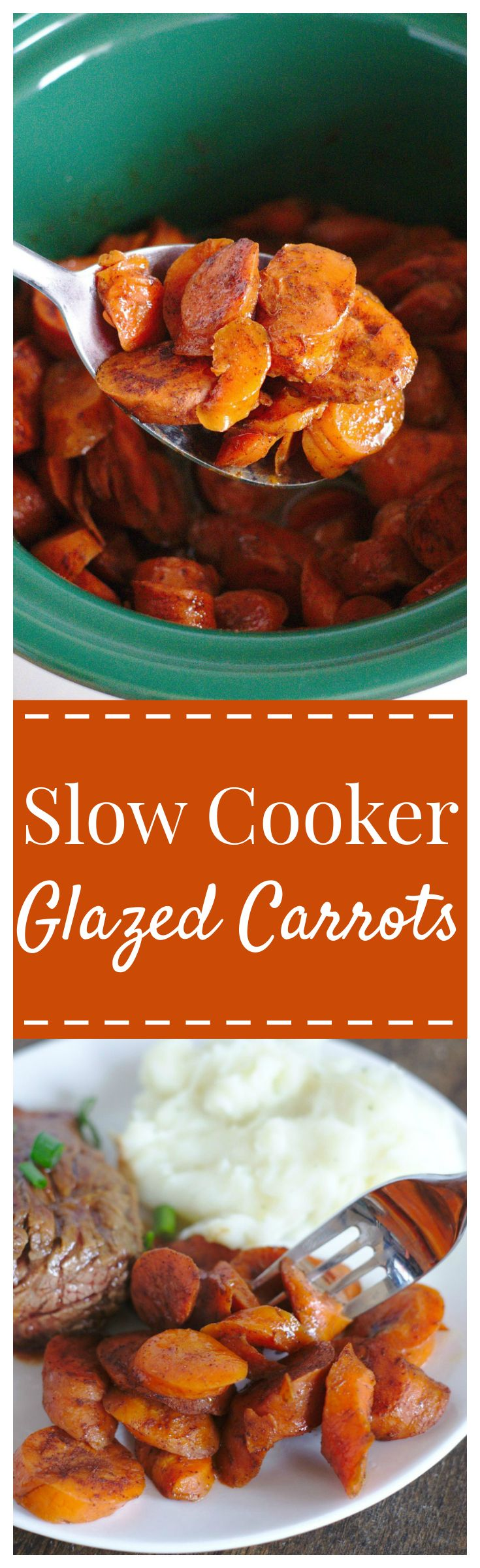 2 lbs carrots (either chopped carrots or baby carrots) 1/2 cup brown sugar 2 tbsp butter (melted) 2 tsp cinnamon 1/2 tsp ground ginger