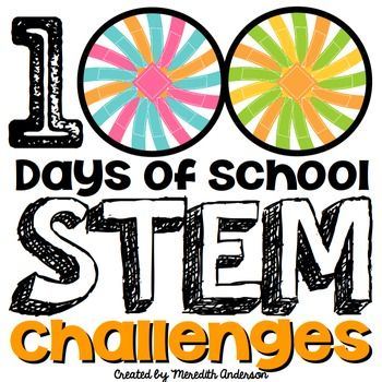 Celebrate your 100th day of school with these STEM and STEAM challenges! These STEM activities include the number 100 in a variety of ways.