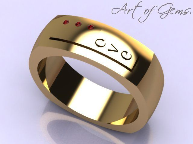 Modern Love ring. Bold 10k yg ring, accented with rubies. (Also available in wg with pink tourmaline gemstones). Suitable for both women and men. Originally designed in response to #Mejuri online design contest. Check out mejuri.com - they rock! #ArtofGems