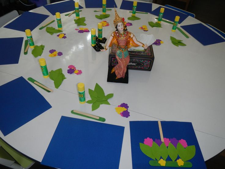 A Craft For Celebrating Loy Krathong In Thailand