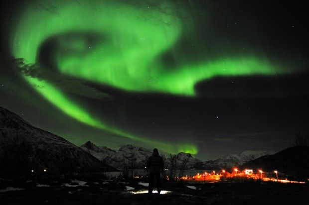 Norvegia, Aurora boreale.    www.repubblica.it