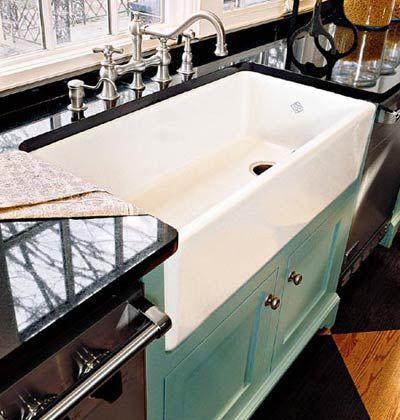 Iu0027m A Sucker For A Farmhouse Sink!