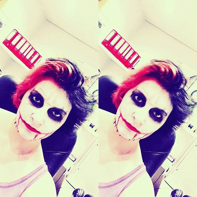 #makeup #joker  #hair