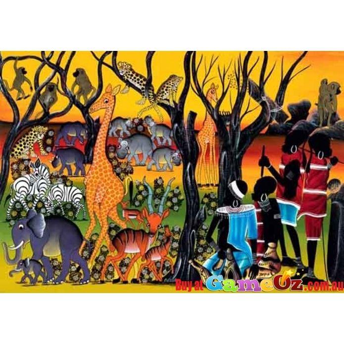 Residents Heye Jigsaw Puzzle 2000 Piece Tinga Tinga