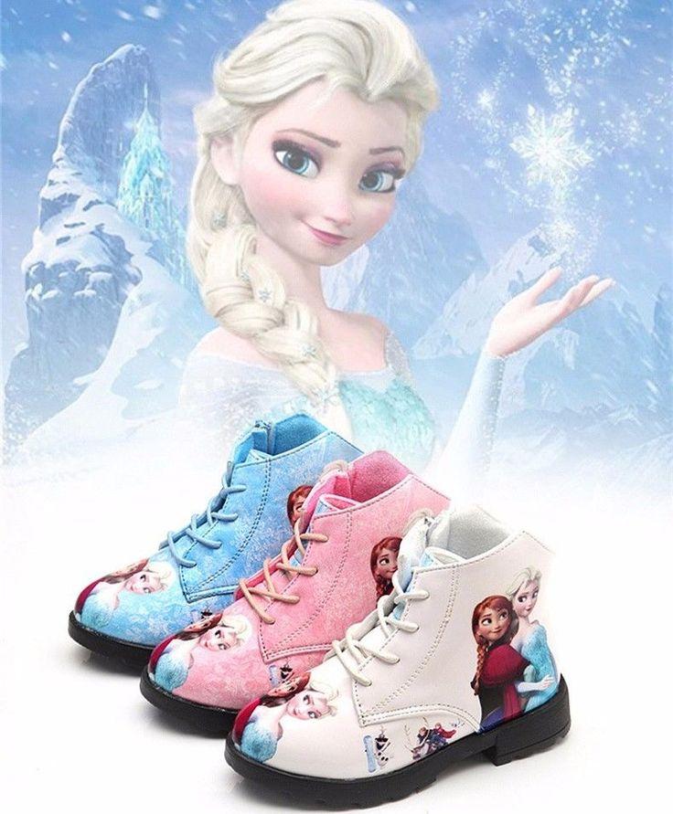 FROZEN Elsa Anna Kinder Mädchen Warm Winter Wasserdicht Schnee Stiefel Schuhe in Kleidung & Accessoires, Kindermode, Schuhe & Access., Schuhe für Jungen | eBay!