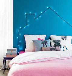 Světýlka do ložnice prostě patří!, fotka