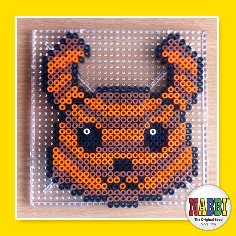 Made with NABBI ironing beads! Join us to day at facebook.com/nabbibeads for more inspiration