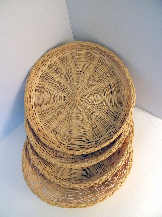 4 Natural Wicker Plates Paper Plate Holders & 43 best KG images on Pinterest | Ornaments Thoughts and Awesome quotes
