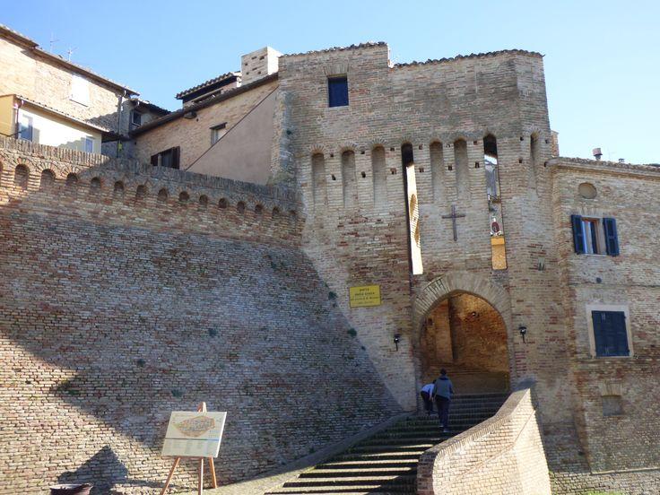 Porta della CROCE, cross gate (14th-15th century)