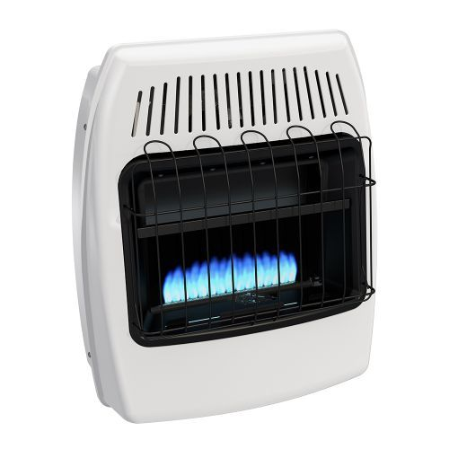 gas from garage propane you heater forced faulty btu hot air natural