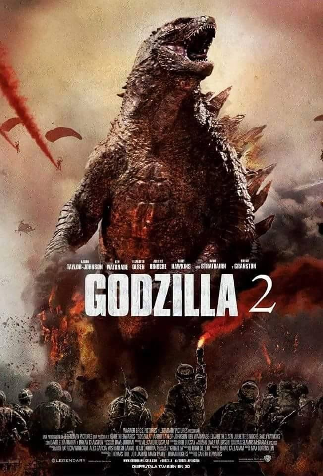 Godzilla 2 (2017-2018) | The list of 2017 Hollywood movies ...