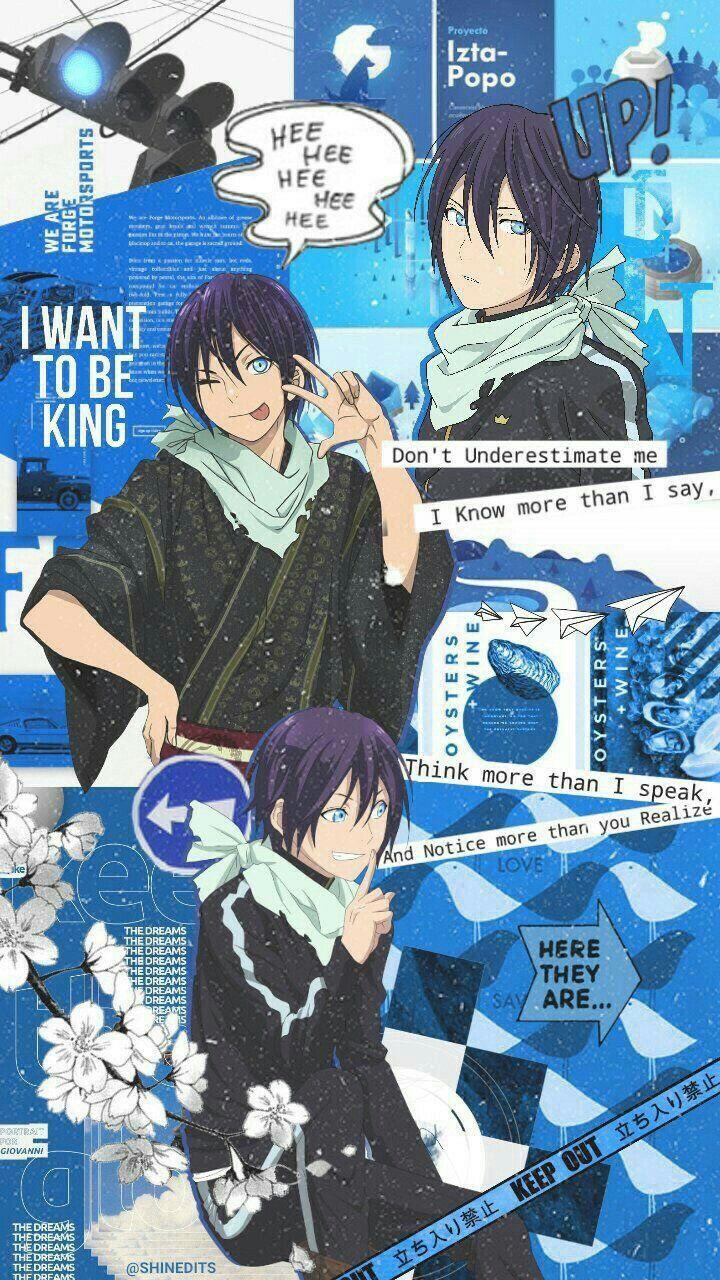 Pin By Natakoi 3 On Anime Oboi Noragami Anime Noragami Anime Wallpaper Cute home screen anime wallpaper