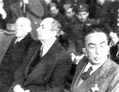 Trial of Greeks who collaborated with the Nazis during the German Occupation of Greece (1941-1944)