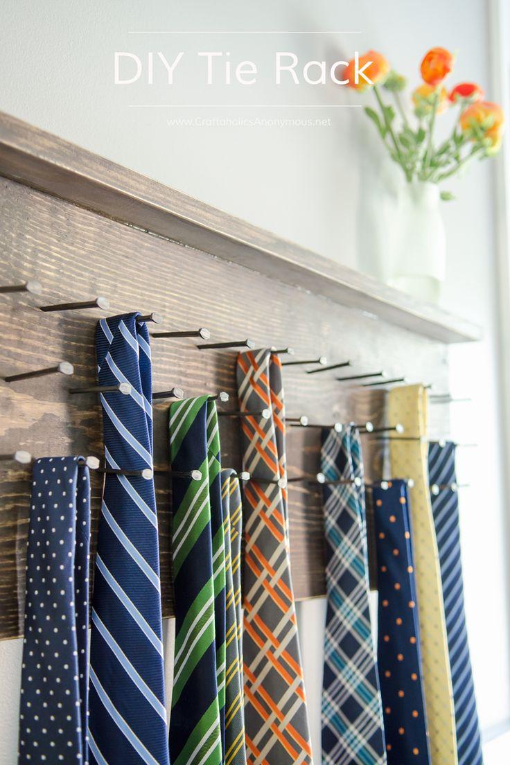 25  best ideas about tie rack on pinterest
