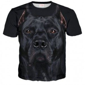 PIES Koszulka T-Shirt Full Print 3D